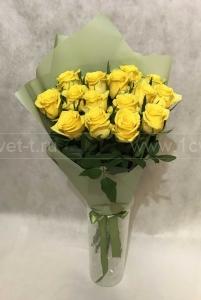 Букет из жёлтой розы №808