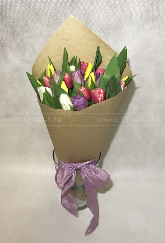 Букет из тюльпанов №816