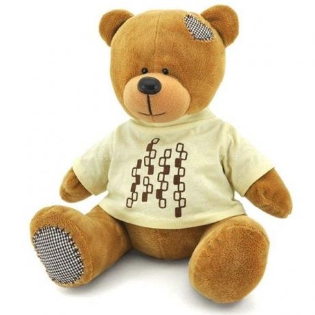 Медведь Топтыжкин коричневый 20 см