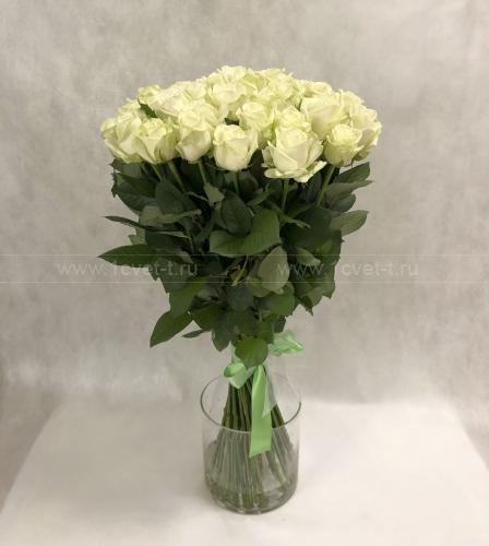 Букет из 51 белой розы №899