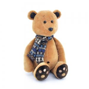 Мягкая игрушка медвежонок Медок в шарфике