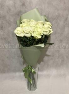 Букет из белых роз №803